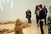 GUSTAV METZGER : Early works 1965-1982. Tate Britain. 26 September 2011. <br /> <br />  , -DO NOT ARCHIVE-© Copyright Photograph by Dafydd Jones. 248 Clapham Rd. London SW9 0PZ. Tel 0207 820 0771. www.dafjones.com.