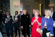 PRINCES MICHAEL OF KENT; ELIZABETH AITKEN; SANDRA HOWARD, Book launch of Lady Annabel Goldsmith's third book, No Invitation Required. Claridges's. London. 11 November 2009