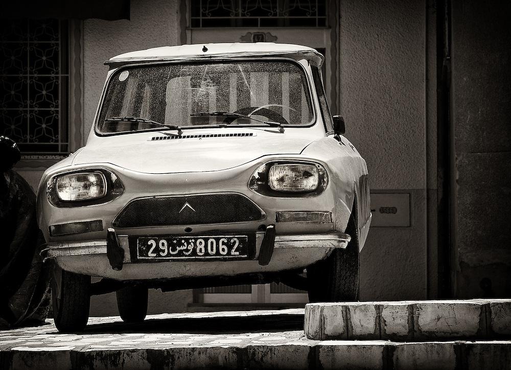 Tunisia - Old Citroen