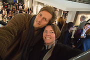 HENRY HUDSON; HANNAH WATSON, Preview for the London Art Fair,  Islington Business Design Centre. London. 13 January 2014
