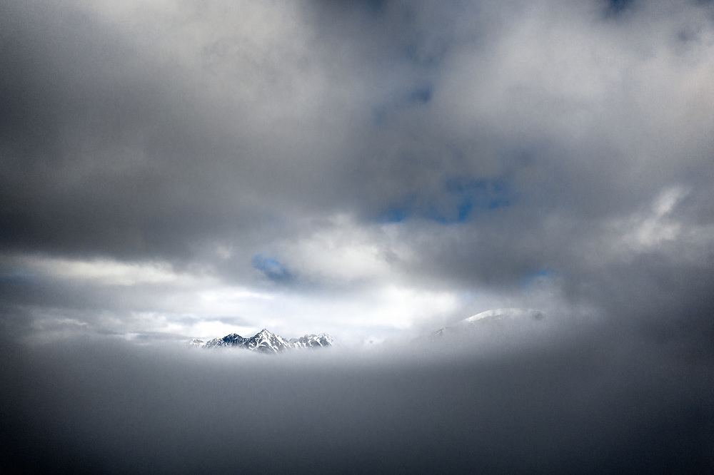 Mountains of Woodfjorden, Spitsbergen