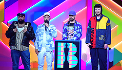 Kurupt FM during the Brit Awards 2021 at the O2 Arena, London. Picture date: Tuesday May 11, 2021.