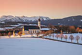 Kapellen Alpenvorland Bayern