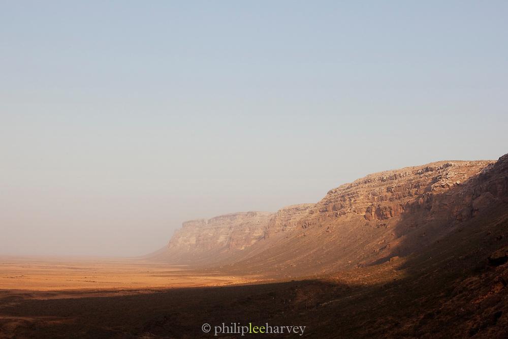 Cliffs at Nugad, Socotra, Yemen