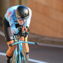 TRENTO (ITA): CYCLING: SEPTEMBER 9th: <br />ITT Women U23 <br />Julie de Wilde