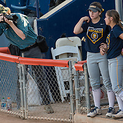 Behind the scenes with Sports Shooter Academy 13 participants at Cal State Fullerton Softball on November 4, 2016 in Fullerton, California. The Sports Shooter Academy Workshops are sponsored by Nikon Professional Services.  ©2016 Michael Der / Sports Shooter Academy 13 Behind the Scenes with the cast and crew of Sports Shooter Academy.