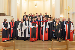 Trustees, Berkeley Divinity School after the Service of Evensong Together with the Conferral of Honorary Degrees. 20 October 2015. Berkeley Divinity School at Yale University.