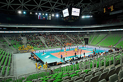 Arena during volleyball match between ACH Volley (SLO) and Modena Volley (ITA) in Round #1 of CEV Champions League 2015/16, on November 5, 2015 in Arena Stozice, Ljubljana, Slovenia. Photo by Vid Ponikvar / Sportida