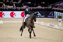 Verwimp Jorinde, BEL, Arie Sollenburg<br /> Jumping Mechelen 2019<br /> © Hippo Foto - Sharon Vandeput<br /> 29/12/19
