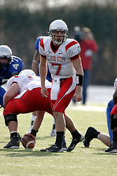 25 November 2006: Luke Drone calls and audible. The Redbirds romped the Panthers by a score of 24-13.&#xD;This game was a 1st round NCAA Division 1 Playoff held at O'Brien Stadium on the campus of Eastern Illinois University in Charleston Illinois.<br />