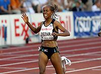 Friidrett , 3. juli 2009, Golden League , Exxon Mobil Bislett Games<br /> Meseret Defar , winner 5000 metres