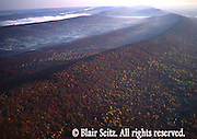PA Landscapes, Southcentral Pennsylvania, Aerial Photographs, Ridge and Valley Geography, Autumn, Cumberland and  Perry County
