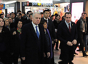 BEIJING, CHINA - DECEMBER 05: (CHINA OUT) <br /> <br /> French Prime Minister Jean-Marc Ayrault visits a Carrefour store on December 5, 2013 in Beijing, China. French Prime Minister Jean-Marc Ayrault is on a five-day official visit to China. <br /> ©Exclusivepix