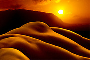Bodyscape of man and earth