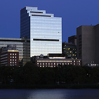 Boston skyline photography from New England and Boston based fine art photographer Juergen Roth showing the Massachusetts Eye and Ear Infirmary, a Harvard Medical School affiliate, captured on a twilight night in September 2013. The hospital is part of Massachusetts General Hospital and is located in Boston's West End, surrounded by various MGH buildings. <br /> <br /> This Boston photography image of the  Massachusetts Eye and Ear Infirmary is available as museum quality photography prints, canvas prints, acrylic prints or metal prints. Prints may be framed and matted to the individual liking and wall decoration needs: <br /> <br /> http://juergen-roth.artistwebsites.com/featured/massachusetts-eye-and-ear-infirmary-juergen-roth.html<br /> <br /> Good light and happy photo making!<br /> <br /> My best,<br /> <br /> Juergen<br /> http://www.exploringthelight.com<br /> http://www.rothgalleries.com<br /> @NatureFineArt<br /> http://whereintheworldisjuergen.blogspot.com/<br /> https://www.facebook.com/naturefineart