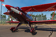 Experimental biplane at Oregon Aviation Historical Society.