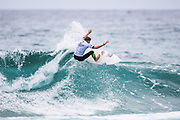 Theo Julitte of France will surf in Round Two of the 2018 Jeep World Junior Championship after placing third in Heat 7 of Round One at Kiama, NSW, Australia. . FOR EDITORIAL NEWS USE ONLY