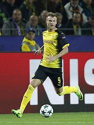 Andriy Yarmolenko of Borussia Dortmund during the UEFA Champions League group H match between Borussia Dortmund and Real Madrid on September 26, 2017 at the Signal Iduna Park stadium in Dortmund, Germany.