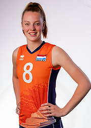 Jette Kuipers of Netherlands, Photoshoot selection of Orange women's youth volleybal team season 2021on june 15, 2021 in Arnhem, Netherlands (Photo by RHF Agency/Ronald Hoogendoorn)