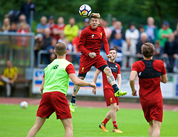 ROTTACH-EGERN, GERMANY - Friday, July 28, 2017: Liverpool's Alberto Moreno during a training session at FC Rottach-Egern on day three of the preseason training camp in Germany. (Pic by David Rawcliffe/Propaganda)