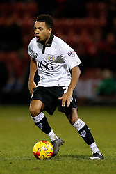 Korey Smith of Bristol City in action - Photo mandatory by-line: Rogan Thomson/JMP - 07966 386802 - 20/12/2014 - SPORT - FOOTBALL - Crewe, England - Alexandra Stadium - Crewe Alexandra v Bristol City - Sky Bet League 1.