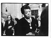 Maya Angelou. Literary Lions. NY Public Library. NY. 5 Nov. 1992. © Copyright Photograph by Dafydd Jones 66 Stockwell Park Rd. London SW9 0DA Tel 020 7733 0108 www.dafjones.com