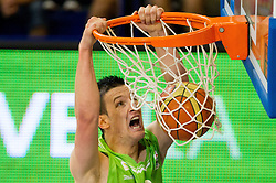 Alen Omic of Slovenia during basketball match between National teams of Latvia and Slovenia in Qualifying Round of U20 Men European Championship Slovenia 2012, on July 16, 2012 in Domzale, Slovenia. (Photo by Vid Ponikvar / Sportida.com)