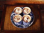 Hot chocolate prepared by Kirsten Dixon of Winterlake Lodge, Alaska.
