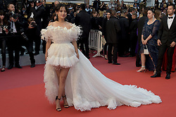May 17, 2019 - Cannes, France - 72nd Cannes Film Festival 2019, Red Carpet film : Dolor y gloria.Pictured: Xin Zhilei (Credit Image: © Alberto Terenghi/IPA via ZUMA Press)