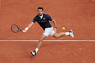 Stan Wawrinka (SUI) during the Roland Garros 2020, Grand Slam tennis tournament, on September 30, 2020 at Roland Garros stadium in Paris, France - Photo Stephane Allaman / ProSportsImages / DPPI
