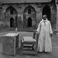 Egypt. Cairo : Sultan Qaytbay wakala - caravanserai - ,  near al Hakim mosque in Gamalyya  islamic Cairo