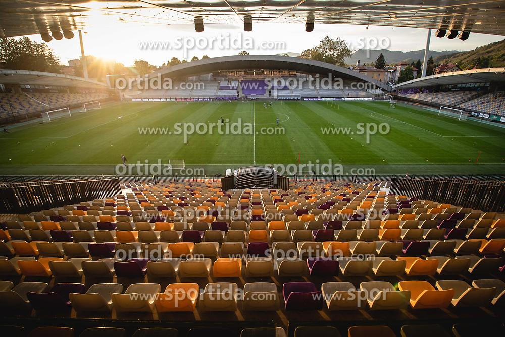 Ljudski Vrt stadium during practice session of Slovenian national team prior to world cup 2022 qualifiers, on 5 of October, 2021 in Ljudski Vrt, Maribor, Slovenia. Photo by Blaž Weindorfer / Sportida