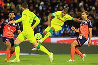 Johan AUDEL  - 24.01.2015 - Montpellier / Nantes  - 22eme journee de Ligue1<br />Photo : Nicolas Guyonnet / Icon Sport