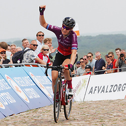 WIJSTER (NED) June 19: CYCLING: Dutch Nationals Road WOMEN up and around the Col du VAM: Amy Pieters wins the Dutch national title ahead of Nancy van der Burg and Karlijn Swinkels