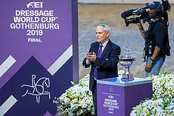 De Vos Ingmar, BEL<br /> LONGINES FEI World Cup™ Finals Gothenburg 2019<br /> © Hippo Foto - Dirk Caremans<br /> 06/04/2019