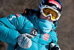 23.01.2011, Tofana, Cortina d Ampezzo, ITA, FIS World Cup Ski Alpin, Lady, Cortina, SuperG, im Bild Elisabeth Goergl (AUT, #16) // Elisabeth Goergl (AUT) during FIS Ski Worldcup ladies SuperG at pista Tofana in Cortina d Ampezzo, Italy on 23/1/2011. EXPA Pictures © 2011, PhotoCredit: EXPA/ J. Groder