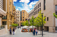 Beirut Souks capital city of Lebanon Middle east