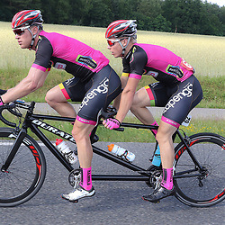 18-06-2017: Wielrennen: NK Paracycling: Montferlands-Heerenberg (NED) wielrennen  <br />Tristan Bangma (Donkerbroek) Patrick Bos