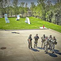 EDINA, MN MAY 5: 2015 South West Metro SWAT Consortium SWAT Basic School on May 5, 2015 in Edina, Minnesota. (Photo by: Adam Bettcher)