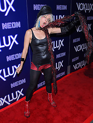 December 5, 2018 - Hollywood, California, U.S. - Kate Crash arrives for the premiere of the film 'Vox Lux' at the Arclight theater. (Credit Image: © Lisa O'Connor/ZUMA Wire)