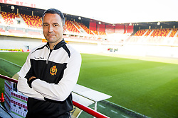 November 2, 2017 - Mechelen, BELGIUM - Mechelen's new head coach Aleksandar Jankovic poses for the photographer after a press conference of Belgian first division soccer team KV Mechelen, in Mechelen, Thursday 02 November 2017, to present their new head coach. Last week the club dismissed coach Ferrera and appointed Serbian Jankovic for a second stint, he already coached the club from May 2014 to September 2016. BELGA PHOTO JASPER JACOBS (Credit Image: © Jasper Jacobs/Belga via ZUMA Press)