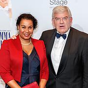 NLD/Utrecht/20180923 - Premiere Mamma Mia, politicus Jan van Zanen en partner Simone Richardson