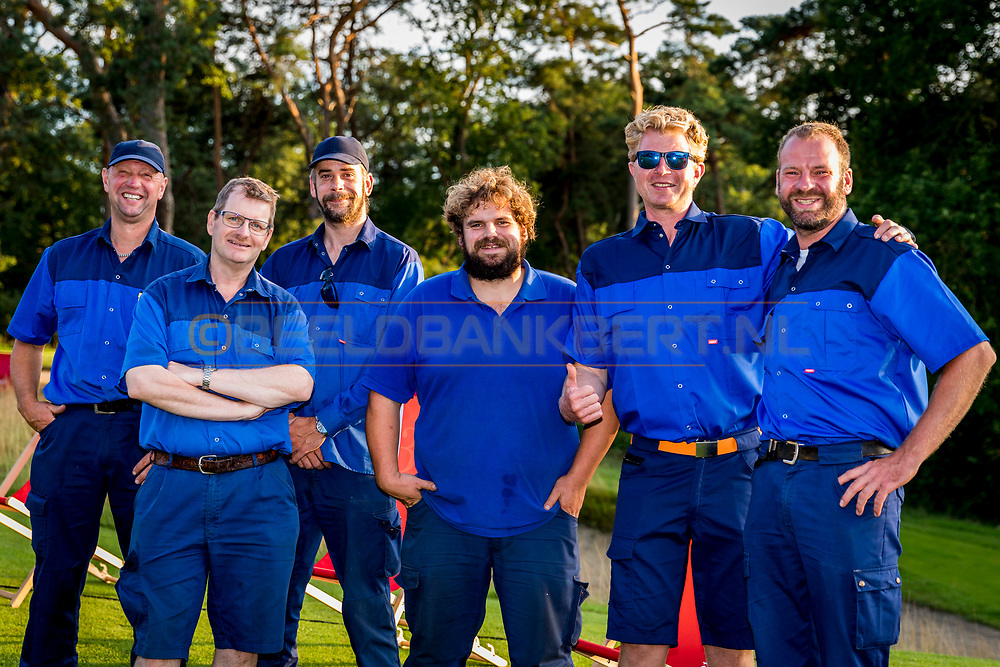 20-07-2019 Pictures of the final day of the Zwitserleven Dutch Junior Open at the Toxandria Golf Club in The Netherlands.<br /> Greenkeepers