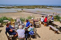 France, Manche (50), Blainville-sur-Mer, restaurant la Cale // France, Normandy, Manche department, Blainville-sur-Mer, La Cale restaurant