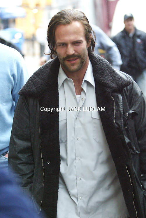 JASON STANTHAM ON SET OF REVOLVER St John St London<br />  High Quality Prints please enquire via contact Page. Rights Managed Downloads available for Press and Media