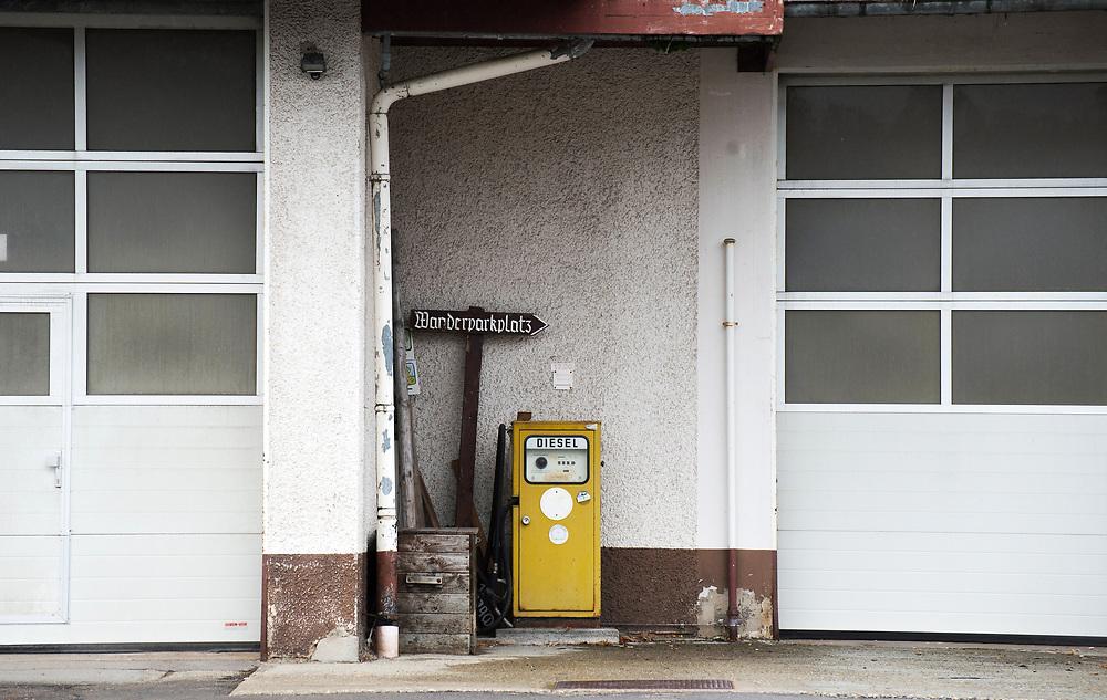 06.10.2017; Feldberg; Tankstelle an der Bundesstrasse B500<br /> (Steffen Schmidt)