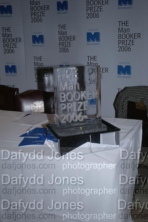 Drinks Reception before the Man Booker Prize 2006. Guildhall, Gresham Street, London, EC2, 10 October 2006. -DO NOT ARCHIVE-© Copyright Photograph by Dafydd Jones 66 Stockwell Park Rd. London SW9 0DA Tel 020 7733 0108 www.dafjones.com