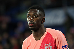 January 6, 2019 - Getafe, Madrid, Spain - Dembele of Barcelona in action during the spanish league, La Liga, football match between Getafe and Barcelona on January 06, 2019 at Coliseum Alfonso Perez in Getafe, Madrid, Spain. (Credit Image: © AFP7 via ZUMA Wire)