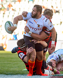 Niel Marais of the Free State Cheetahs during the Currie Cup Premier division match between the The Free State Cheetahs and the Eastern Province Kings held at Toyota Stadium (Free State Stadium), Bloemfontein, South Africa on the 3rd September 2016<br /> <br /> Photo by:   Frikkie Kapp / Real Time Images