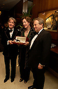Sir Tatton Sykes., Lady Legard and Roger Sidebottom The 2004 Cartier Racing awards, Four Seasons Hotel. London. 17 November 2004. ONE TIME USE ONLY - DO NOT ARCHIVE  © Copyright Photograph by Dafydd Jones 66 Stockwell Park Rd. London SW9 0DA Tel 020 7733 0108 www.dafjones.com